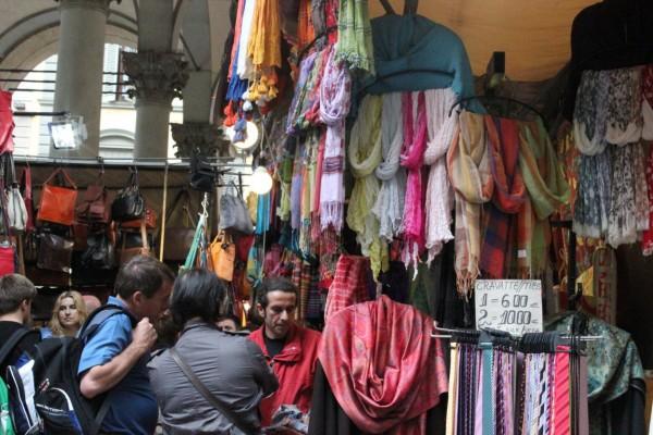 marché couvert à Florence