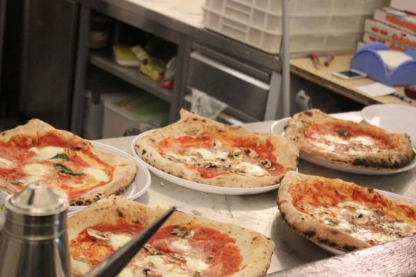 pizza dans un restaurant de Florence en Italie