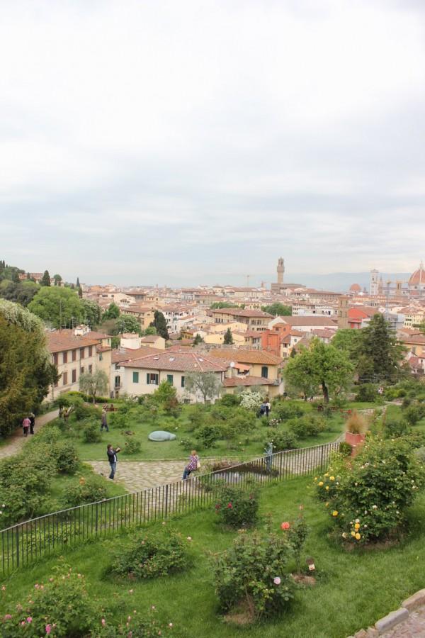 Vue panoramique de la ville de Florence