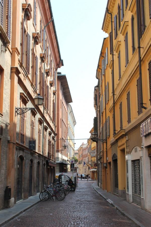 ruelle de Modène, Italie