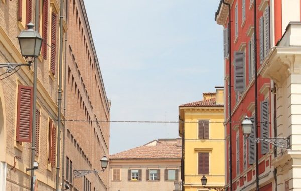 promenade dans les rues de Modène