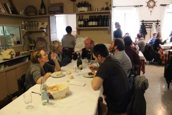trattoria aldina à modène, Italie, scène de vie