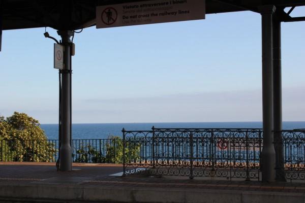 Gare de Nervi à proximité de Gênes