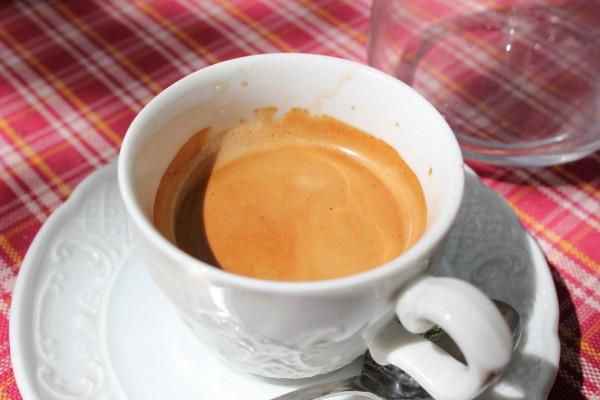 rituel indispensable: le café!