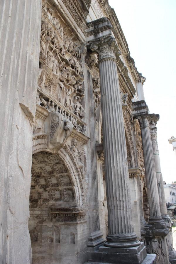 Arc sur le Forum romain