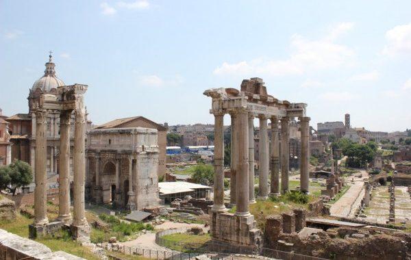 le forum à Rome