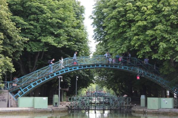 pont du canal Saint Martin à Paris