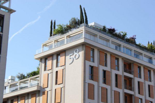 un jardin sur le toit au 58 pour ceux que ça intéresse