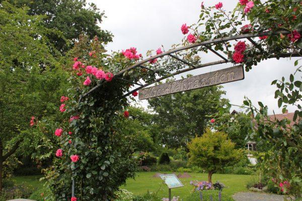entrée du parc floral