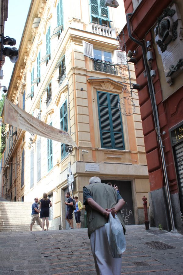 rue à gênes