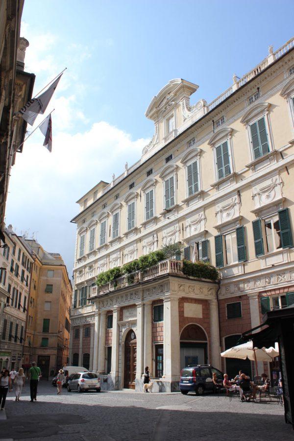 bâtiment officiel à gênes