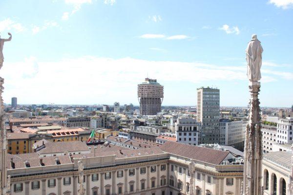 vue panoramique milan