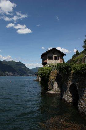 maison sur le lac de Côme