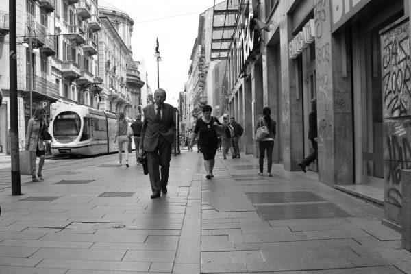 dans la rue à milan