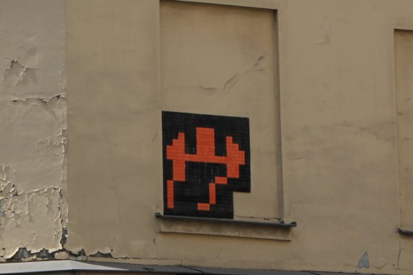 street art space invader