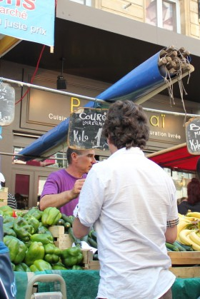 marchand de fruits et légumes