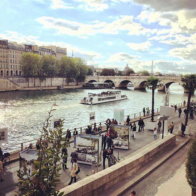 #paris #quaideseine #france #romantic #bateau #sofrench #weekend #weekendparisien