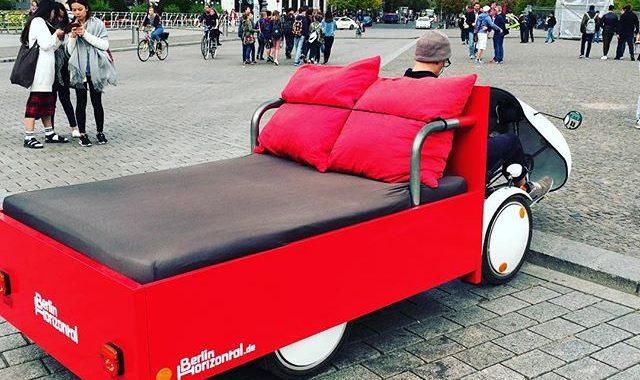 taxi lit à berlin