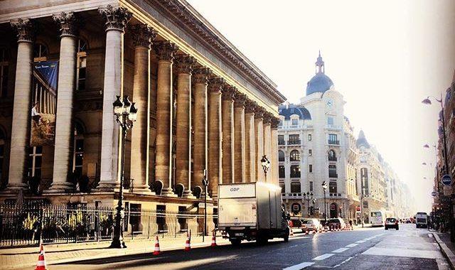palais brongniart à paris - vieille bourse