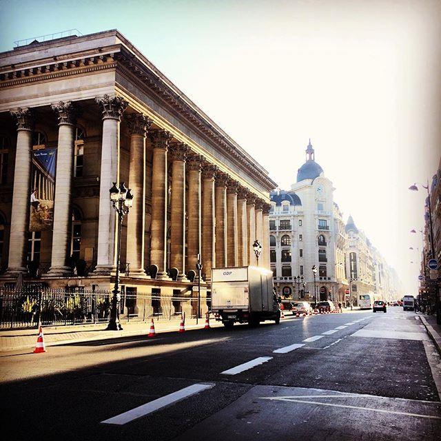 le palais brongniart - la veille bourse de Paris
