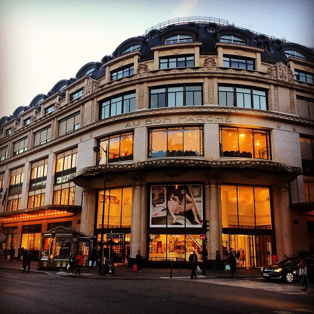 #paris #lebonmarche #shopping #france #firstModernRetailShopInTheWorld #weekend #delicatesen #frenchfood