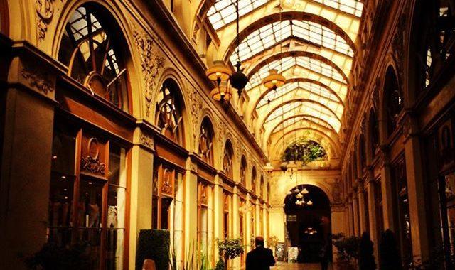 Passage Vivienne à Paris