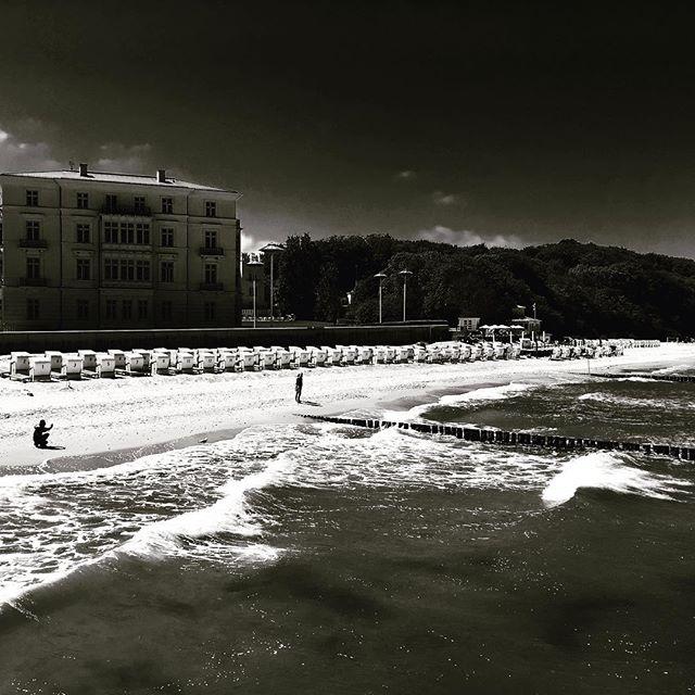 #mer #sera #océan #allemagne #germany #baltique #merbaltique #blackandwhite #ostsee #spring